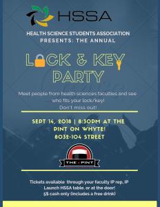 lock & key party